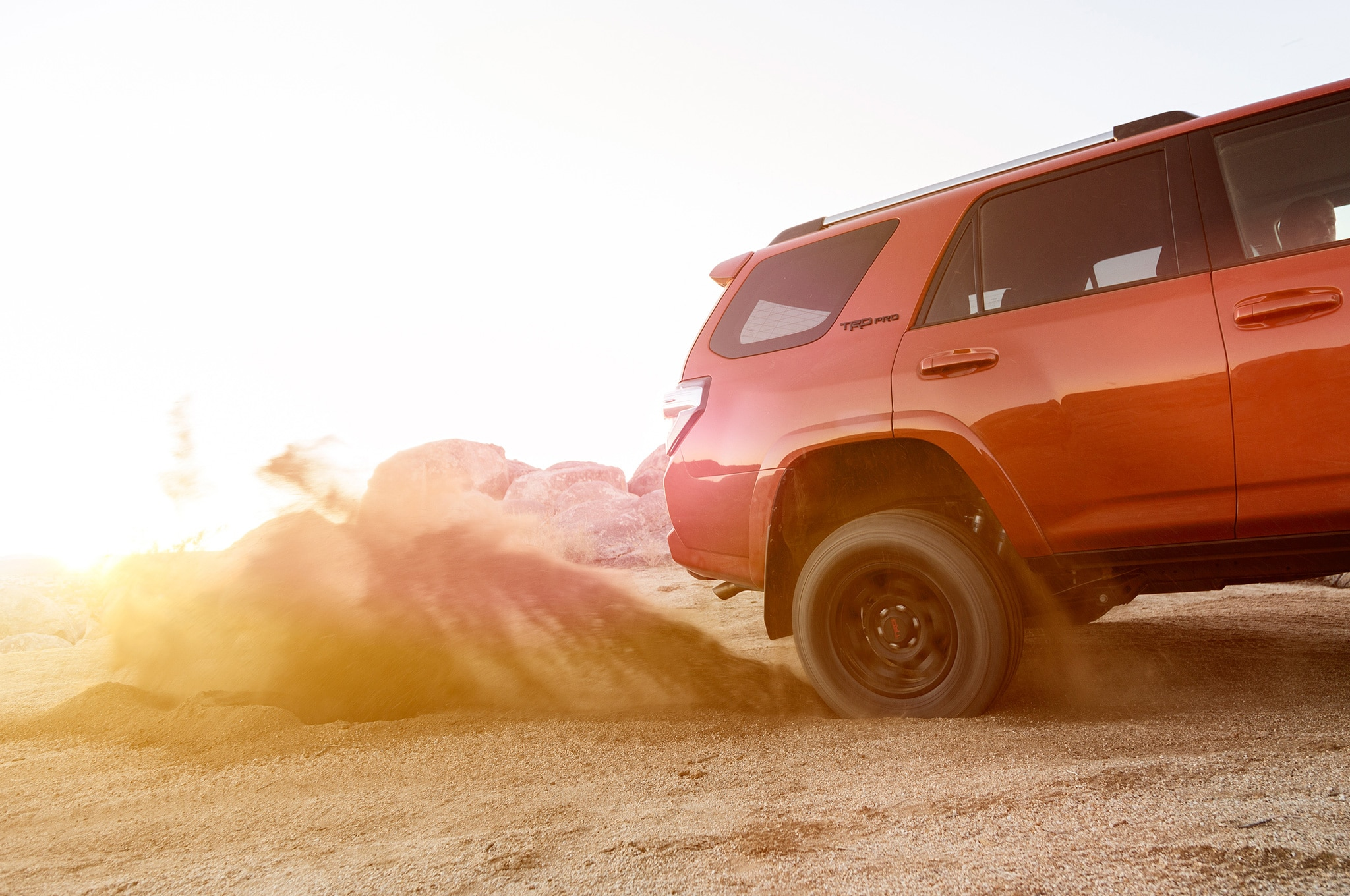 2015 Toyota 4Runner TRD Pro rear side view