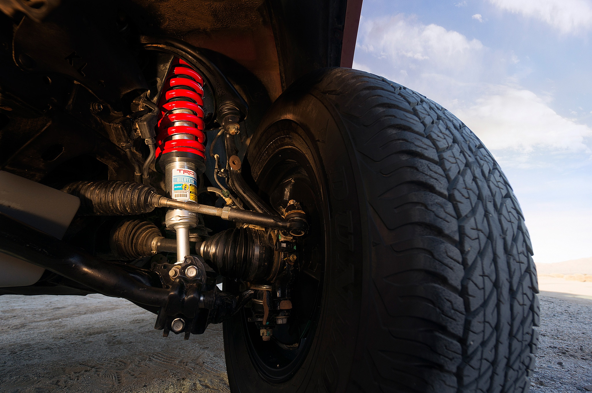 2015 Toyota 4Runner TRD Pro suspension
