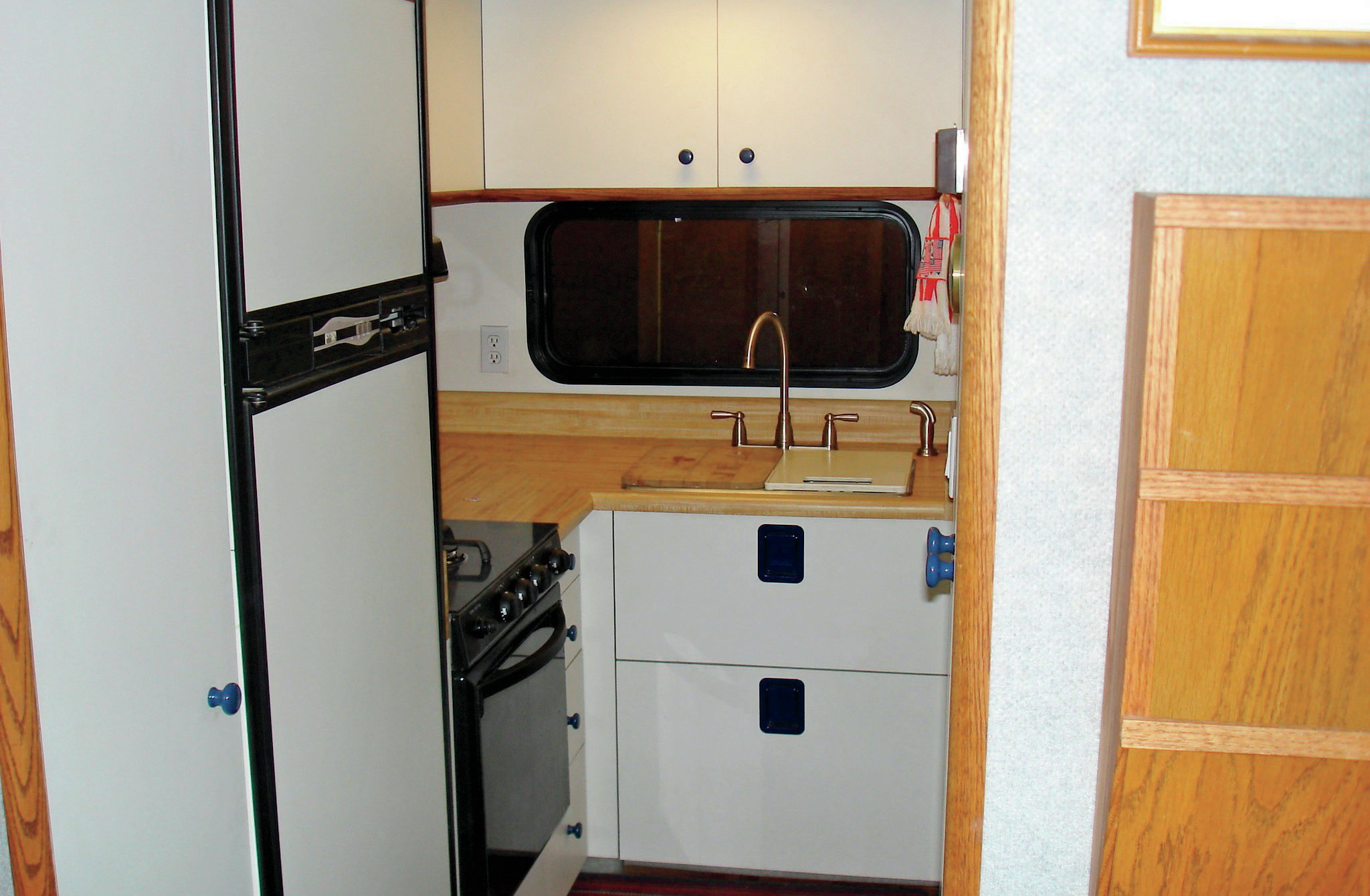 custom built rv interior