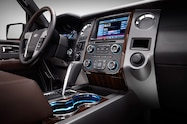 2015 Ford Expedition interior center stack