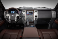 2015 Ford Expedition dash