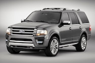 2015 Ford Expedition front three quarters