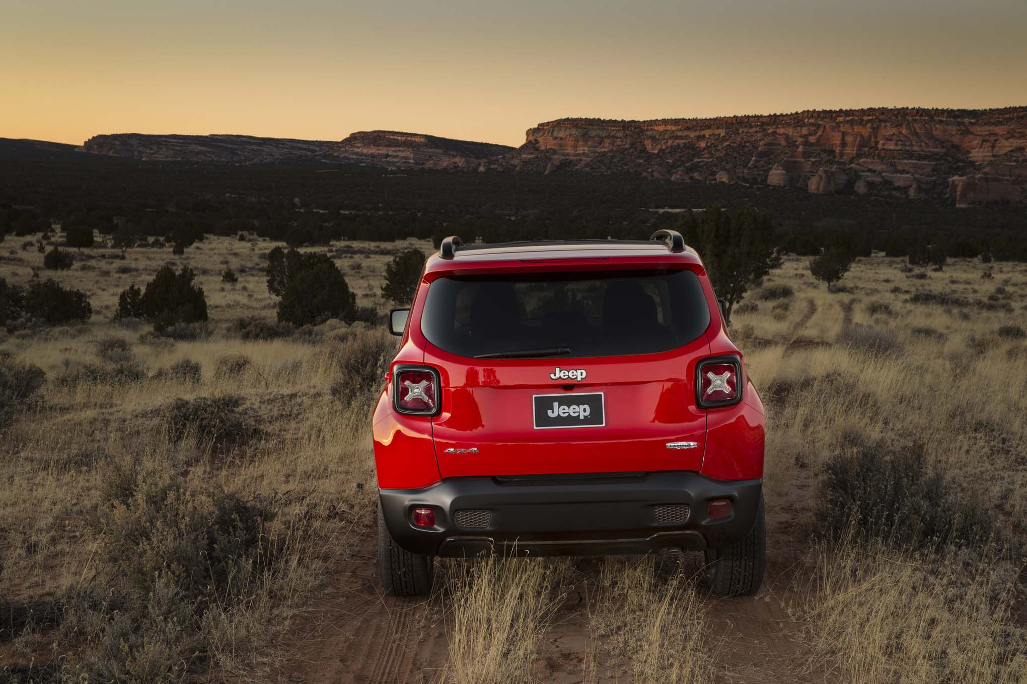 2015 Jeep Renegade Lattitude rear end 03