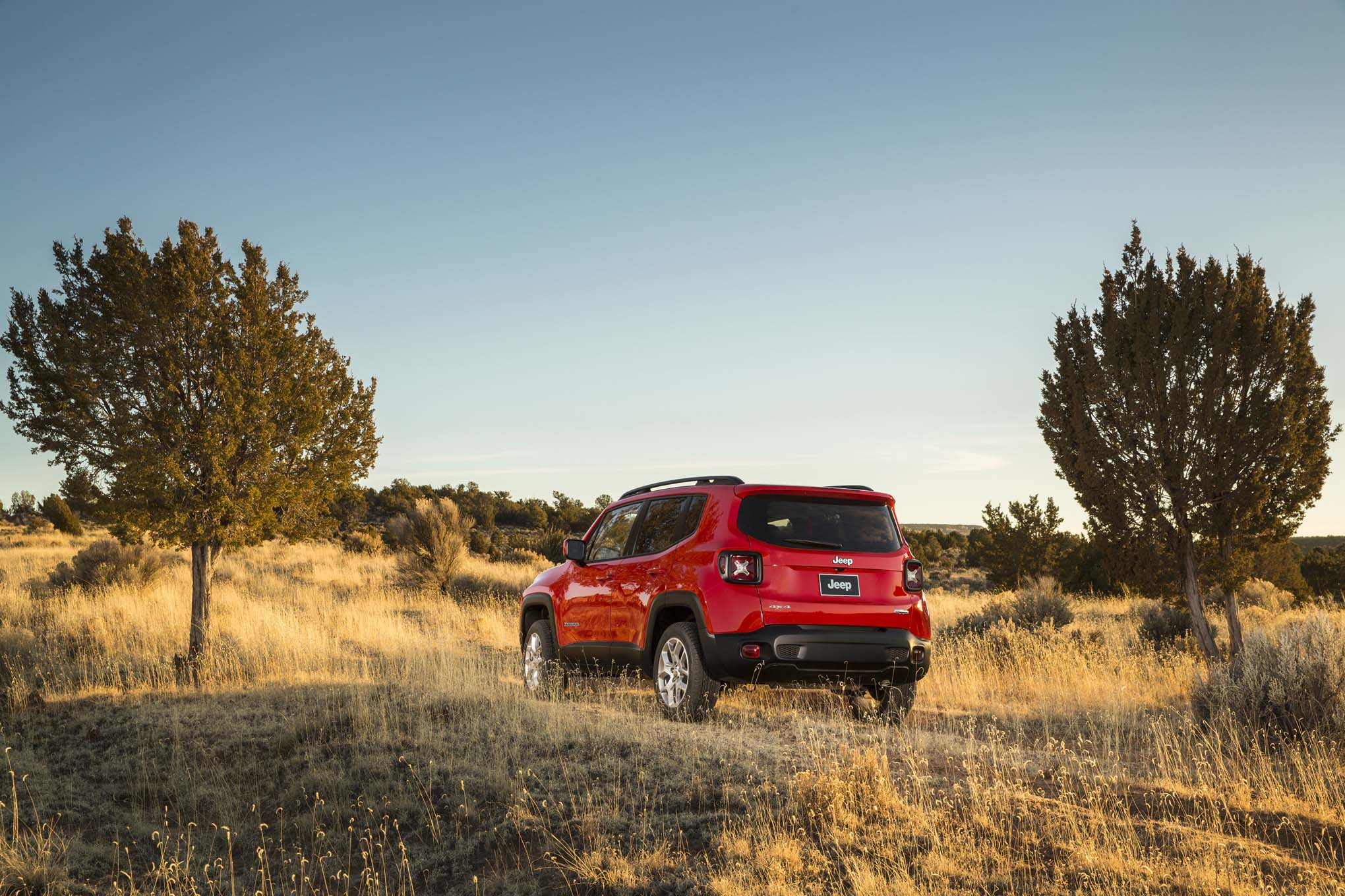 2015 Jeep Renegade Latitude rear three quarters