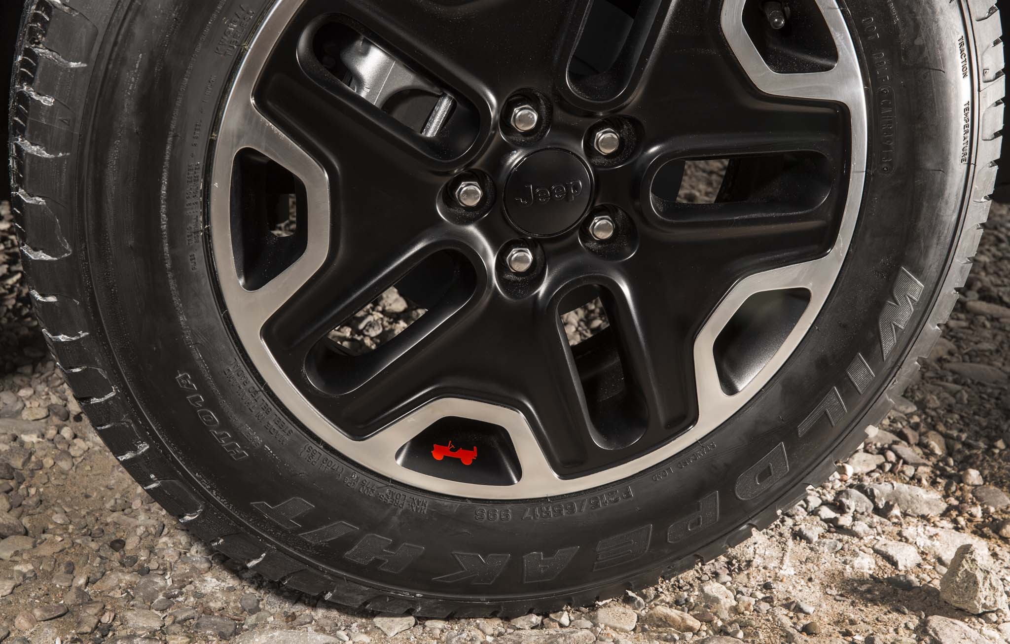 2015 Jeep Renegade Trailhawk wheels