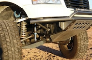 ford f 150 with jd fabrication front suspension