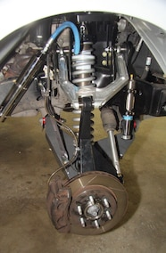 jd fabrication front long travel suspension