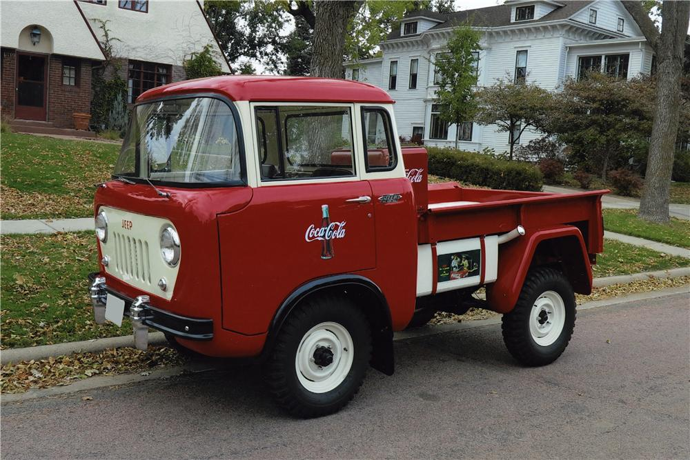 1957 Willys FC150 Cab Over Pickup