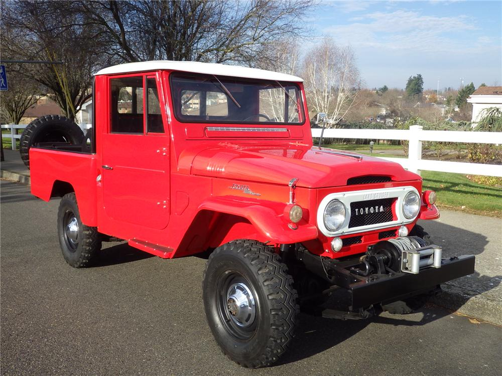 1963 Toyota FJ45 Pickup Lot 938
