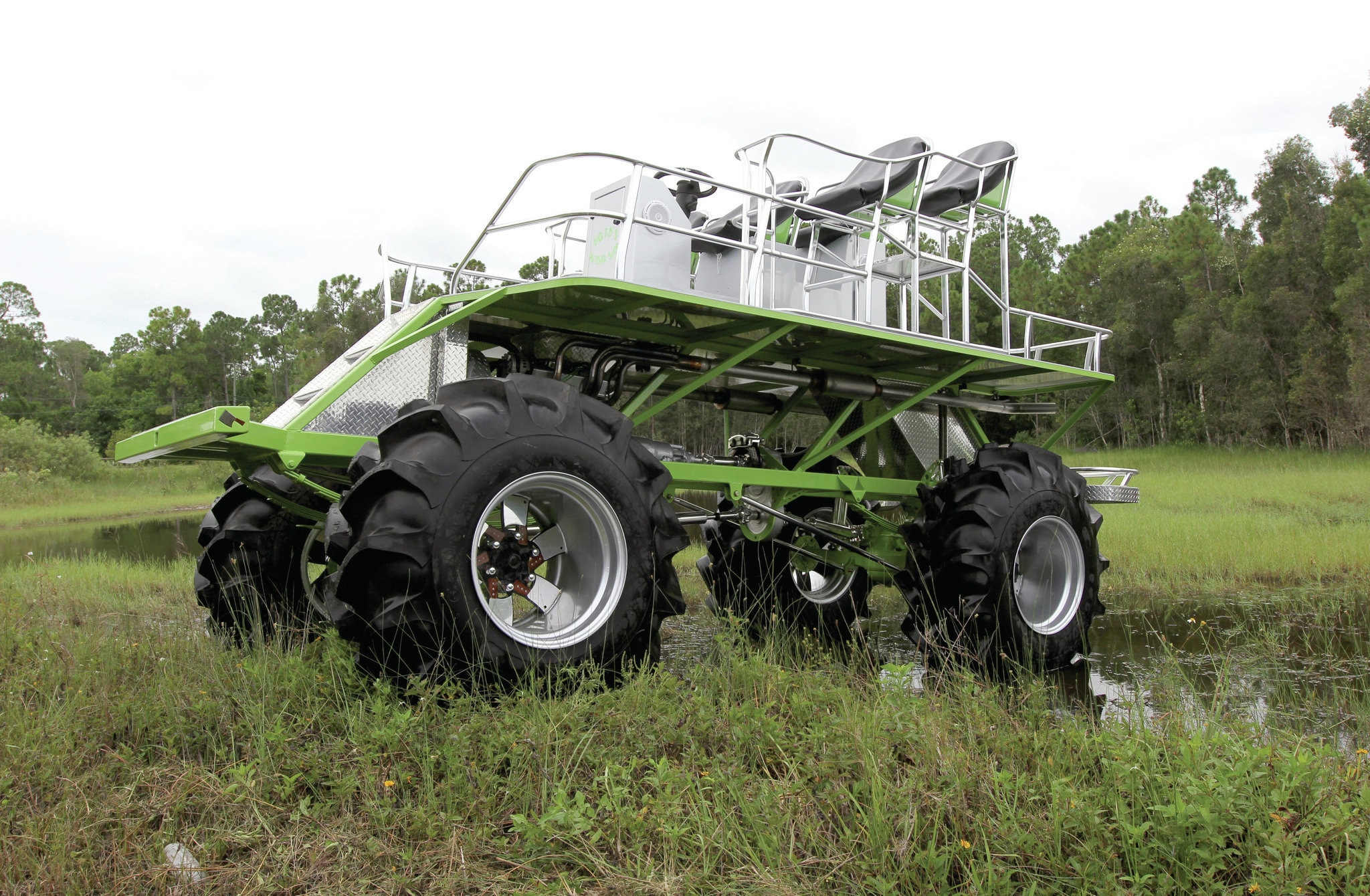 grinch this custom mud buggy