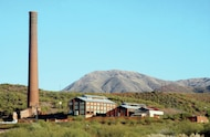 the Magma Mine smelter in Superior