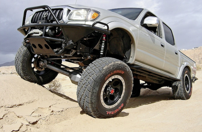 2004 Toyota Tacoma 4x4 - Solid-Axle Solution
