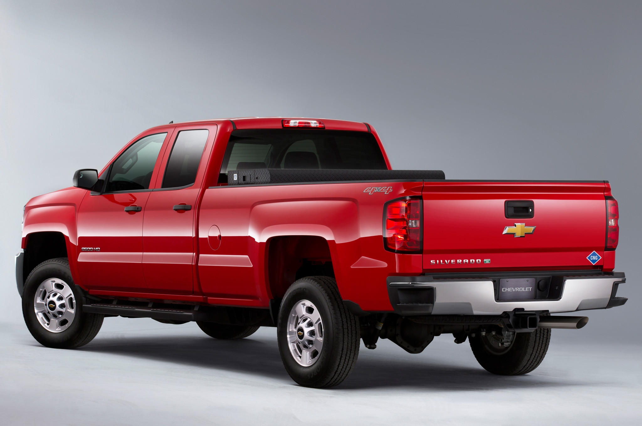 2015 Chevrolet Silverado 2500HD BiFuel rear view