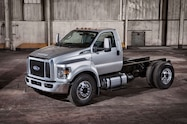 2016 ford f 650 cab chassis