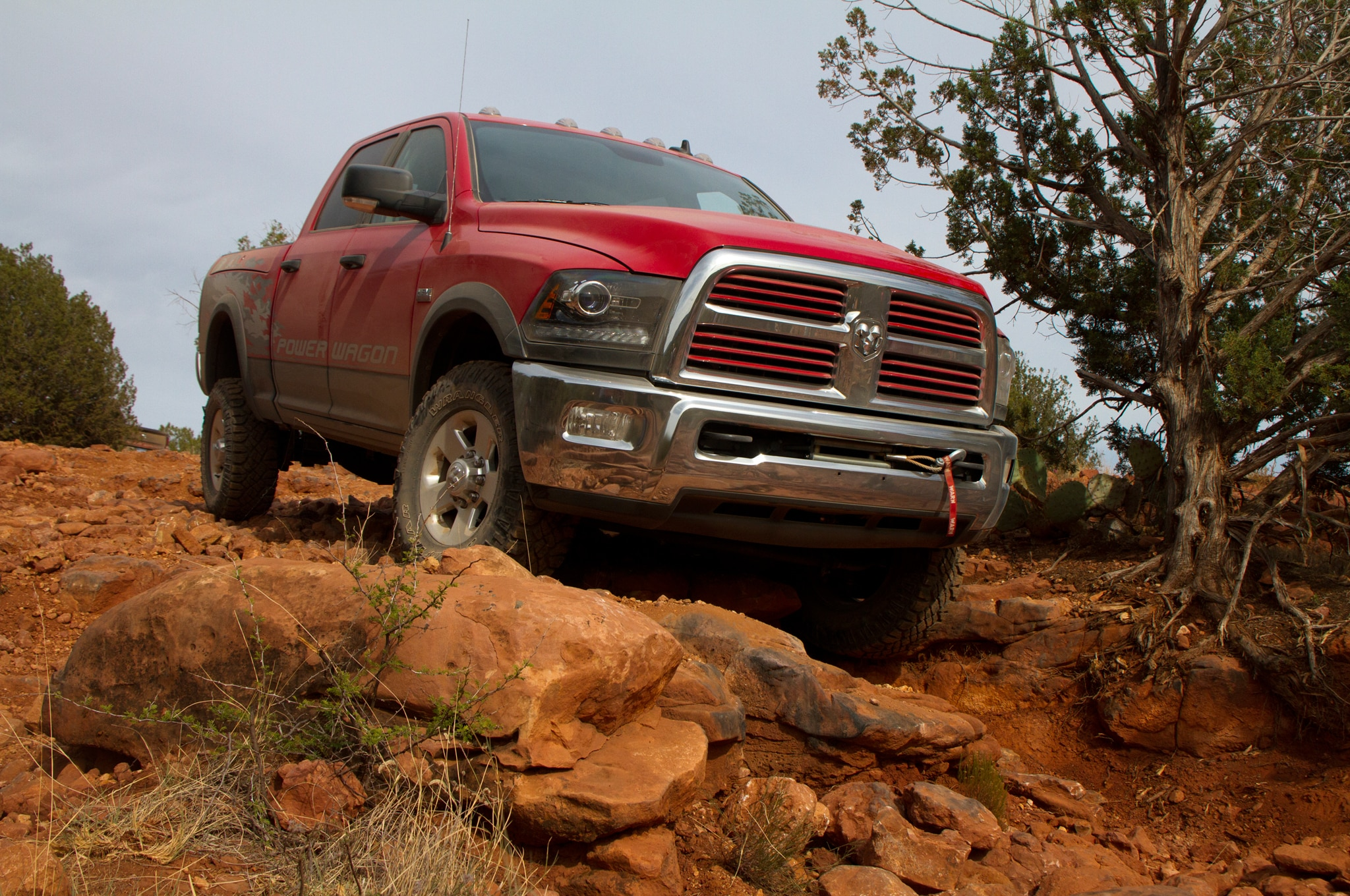2014 Ram 2500 Power Wagon front three quarter static
