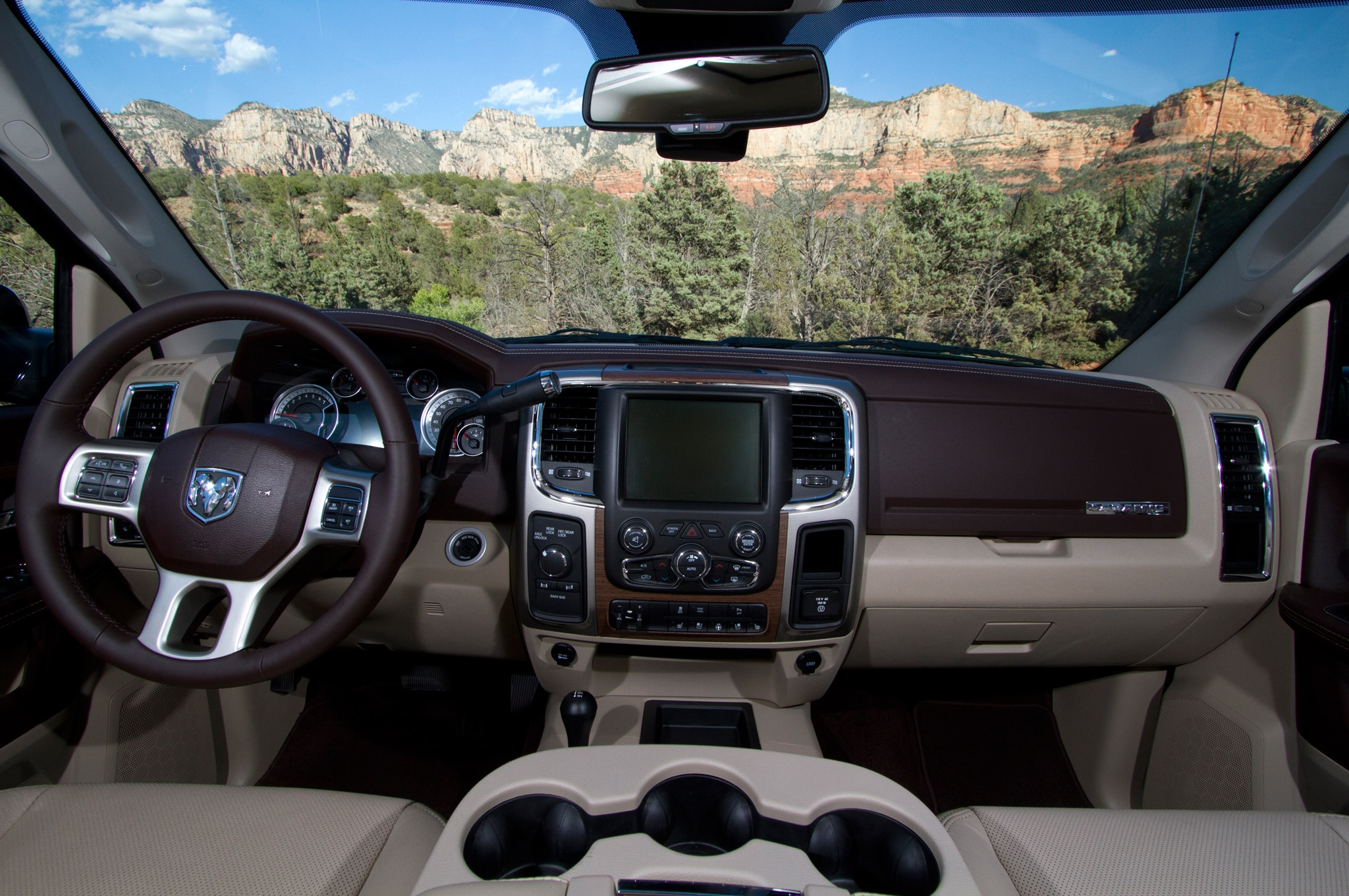 2014 Ram 2500 Power Wagon interior