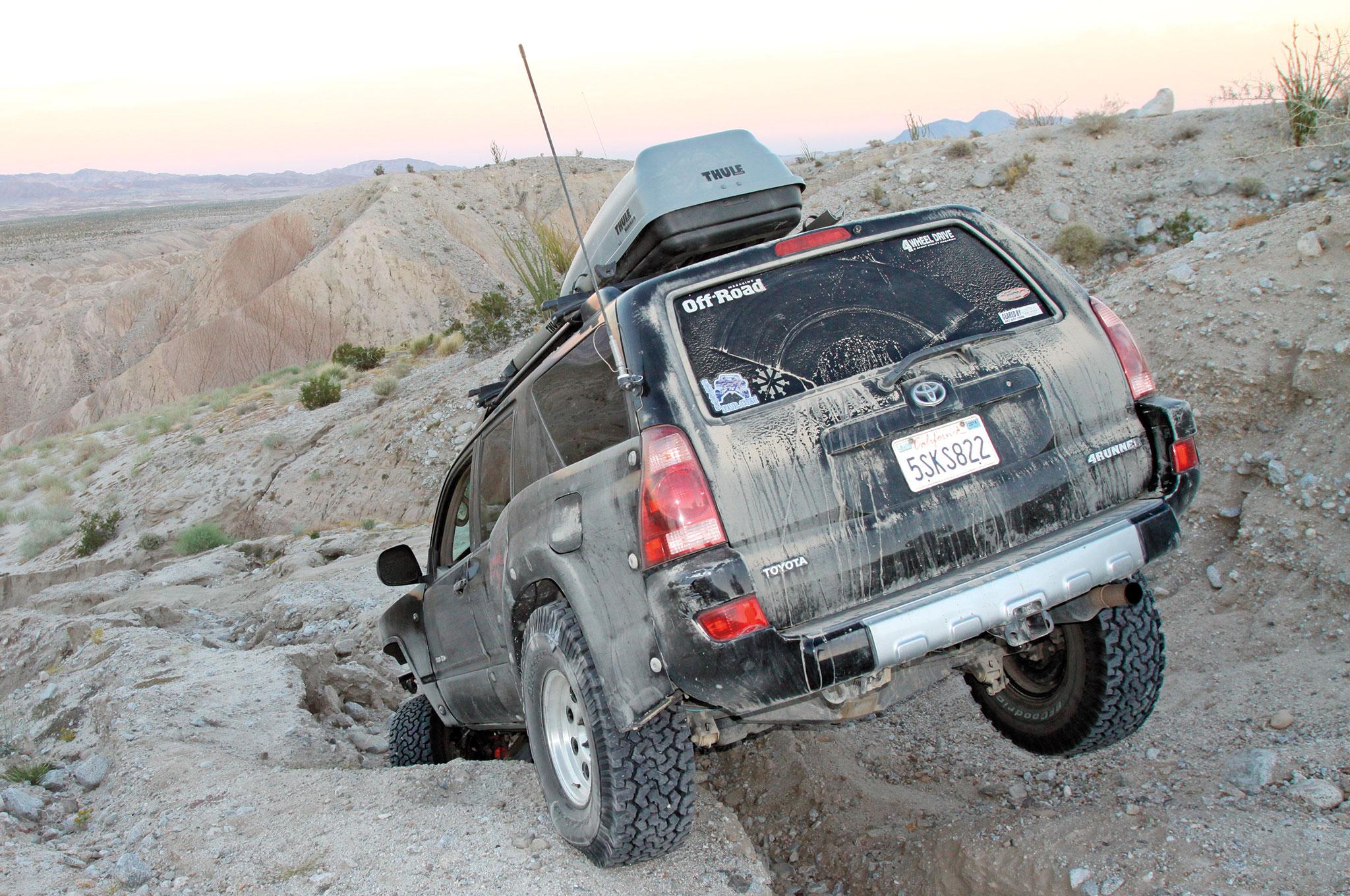 2004 Toyota 4Runner ARB installation 001