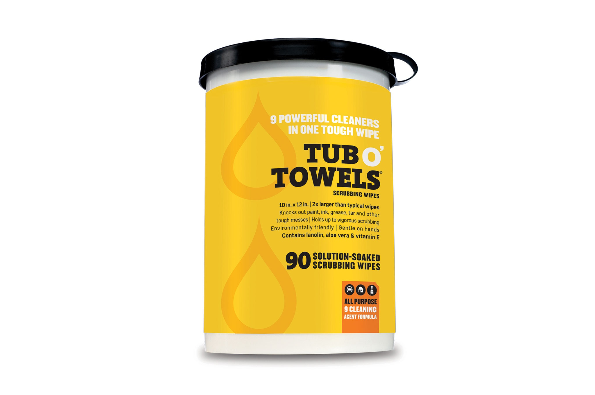Tub OTowels wipes