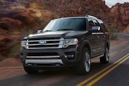 2015 Ford Expedition front view in motion