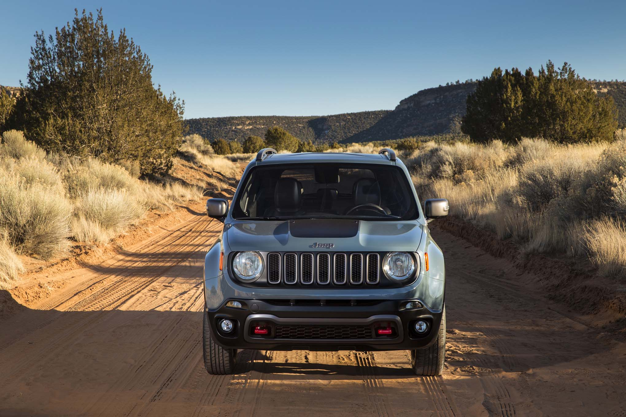 2015 Jeep Renegade Trailhawk front end 03