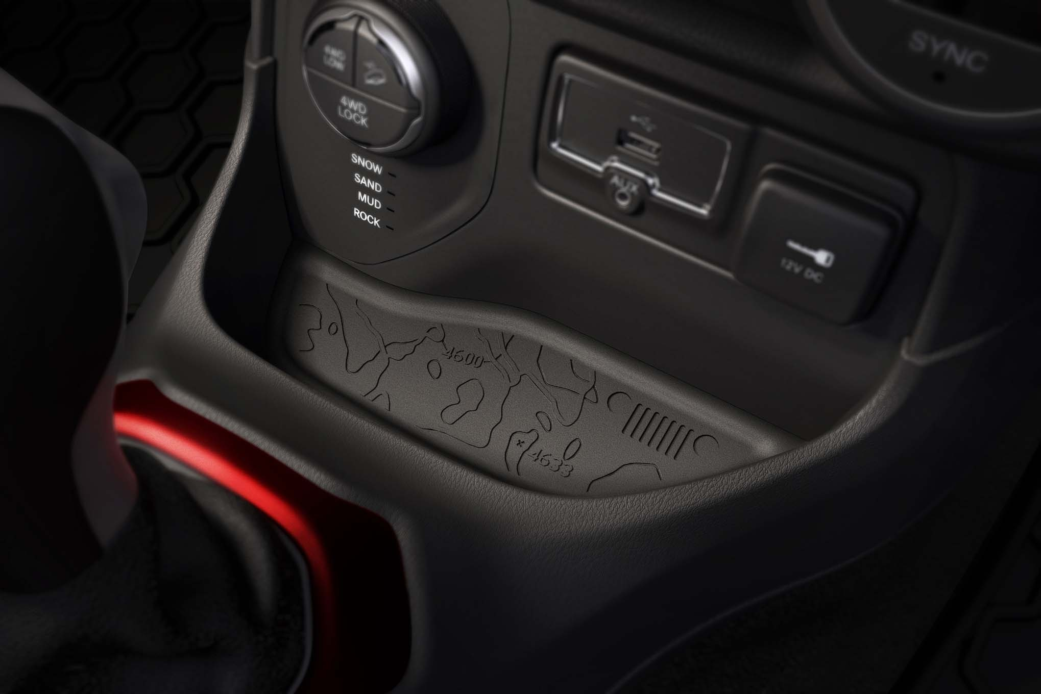 2015 Jeep Renegade Trailhawk usb ports