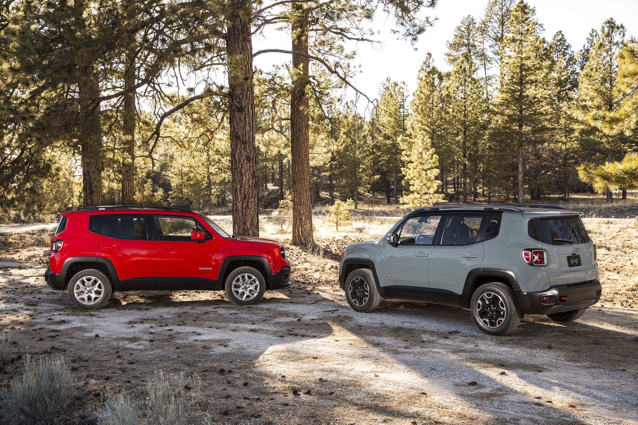 2015 Jeep Renegade Trailhawk 2015 Jeep Renegade latitude side