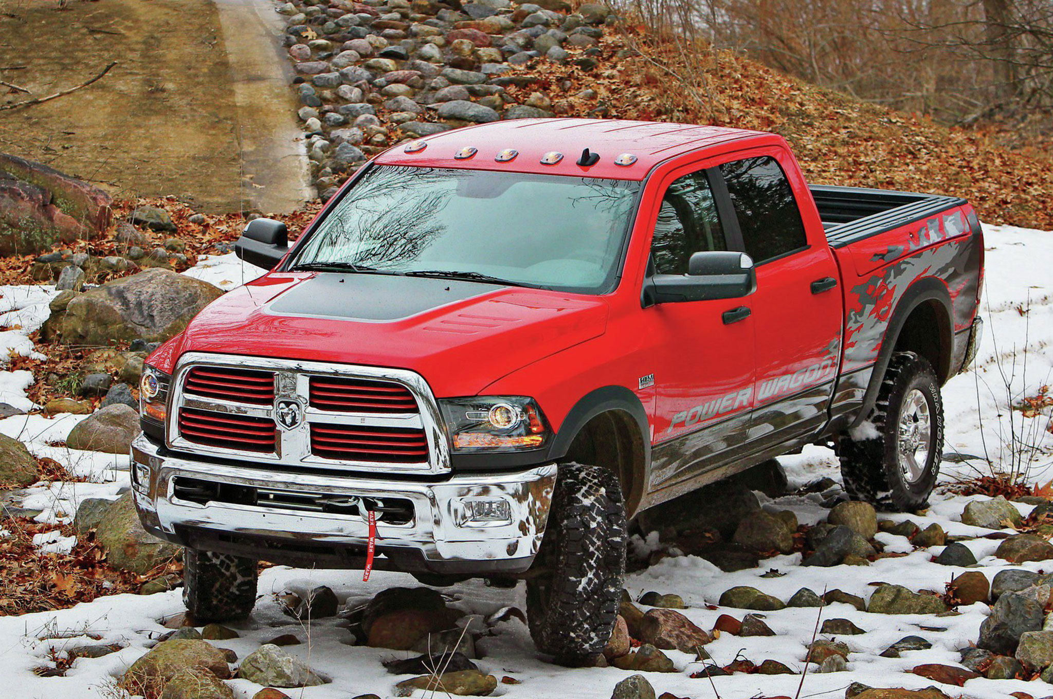 2014 Ram Power Wagon front three quarter