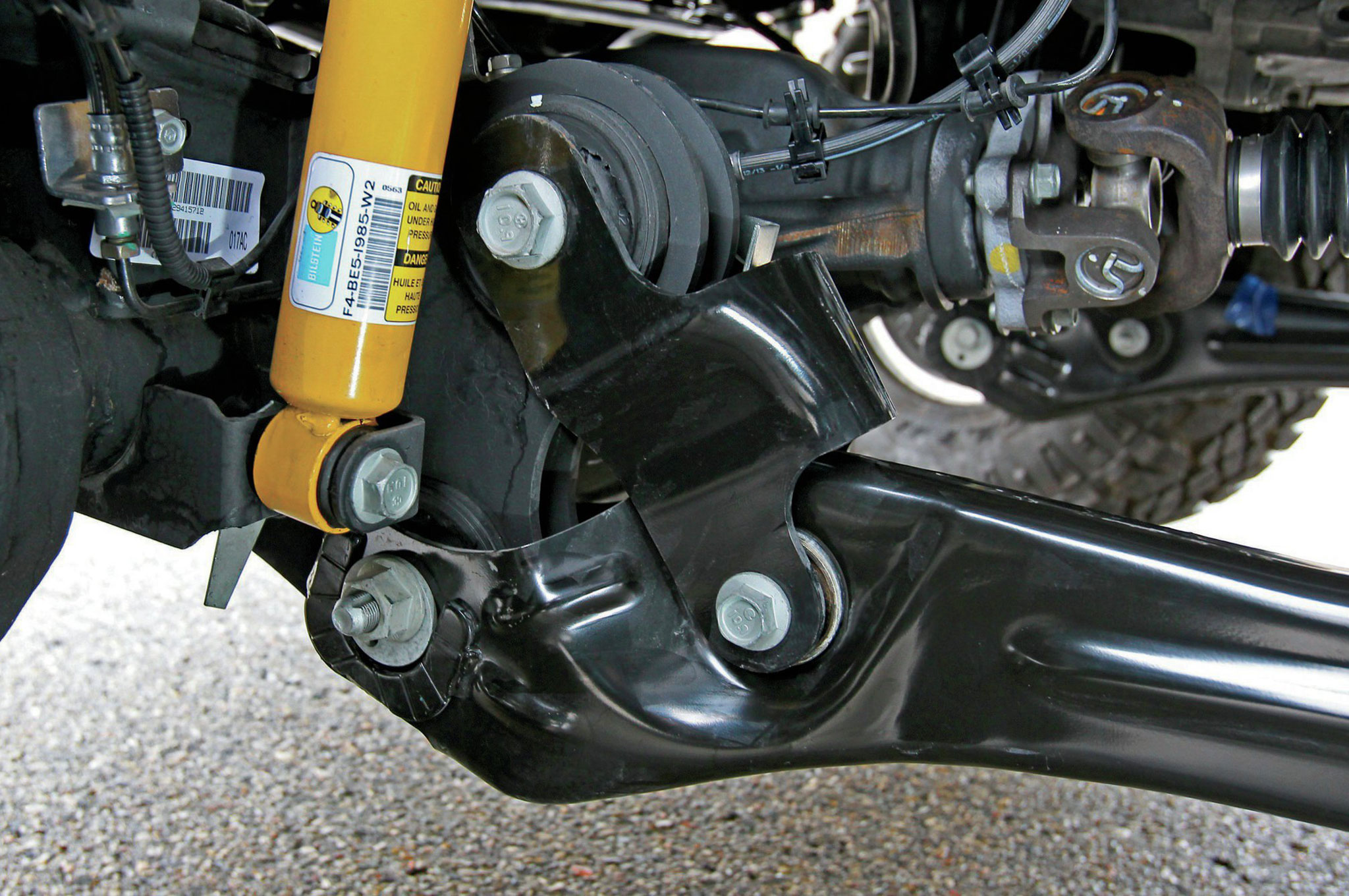 2014 Ram Power Wagon 2500 Bilstein monotube shocks