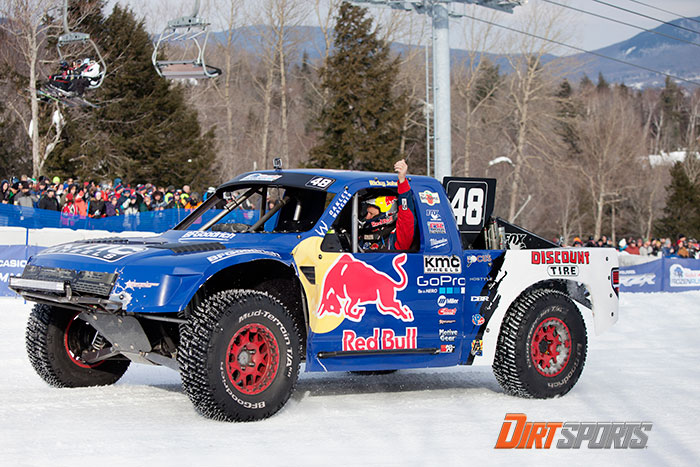 Ricky Johnson claims the first ever Red Bull Frozen Rush title.
