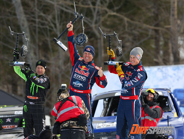 Frozen Rush Podium