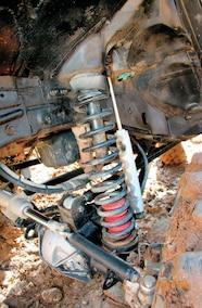 1994 Jeep Grand Cherokee 7 inch Rock Krawler coil springs