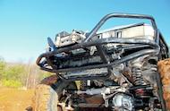 1994 Jeep Grand Cherokee Proto Fab custom front bumper