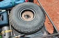 custom 1995 toyota tacoma spare tire