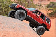 1998 Jeep Cherokee front three quarter