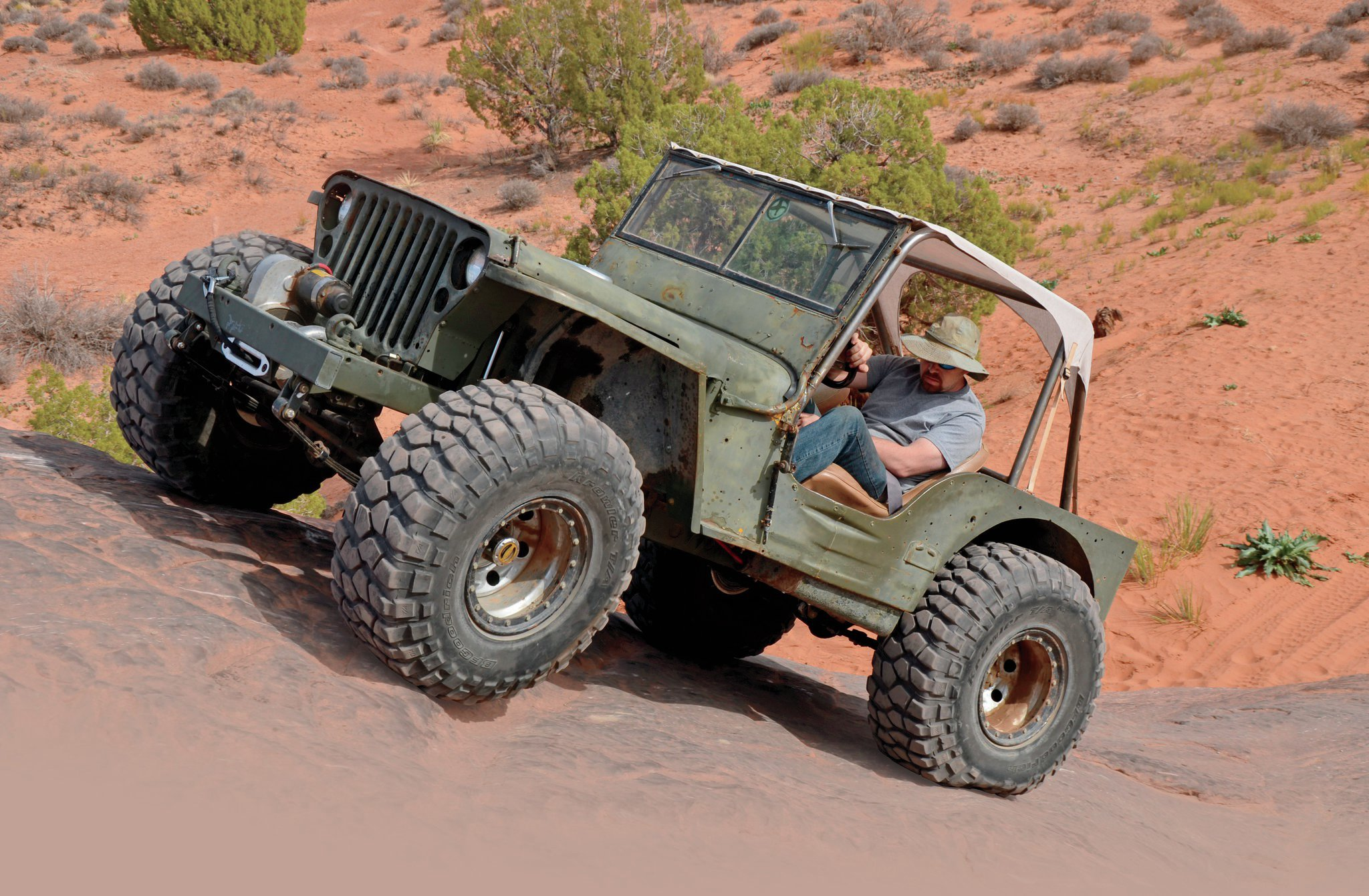 1942 Jeep Willys Mb Low Rider