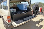 1984 Toyota FJ60 Tuffy Security box