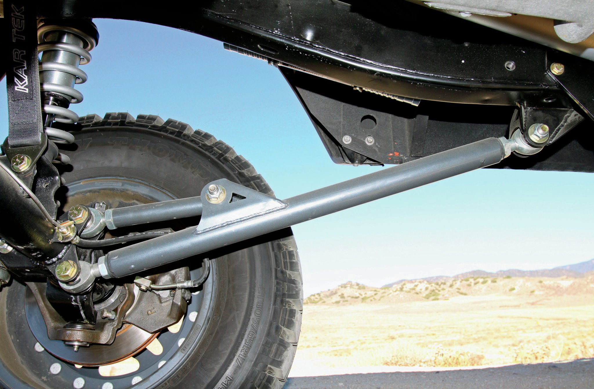 1971 Ford Bronco radius arms