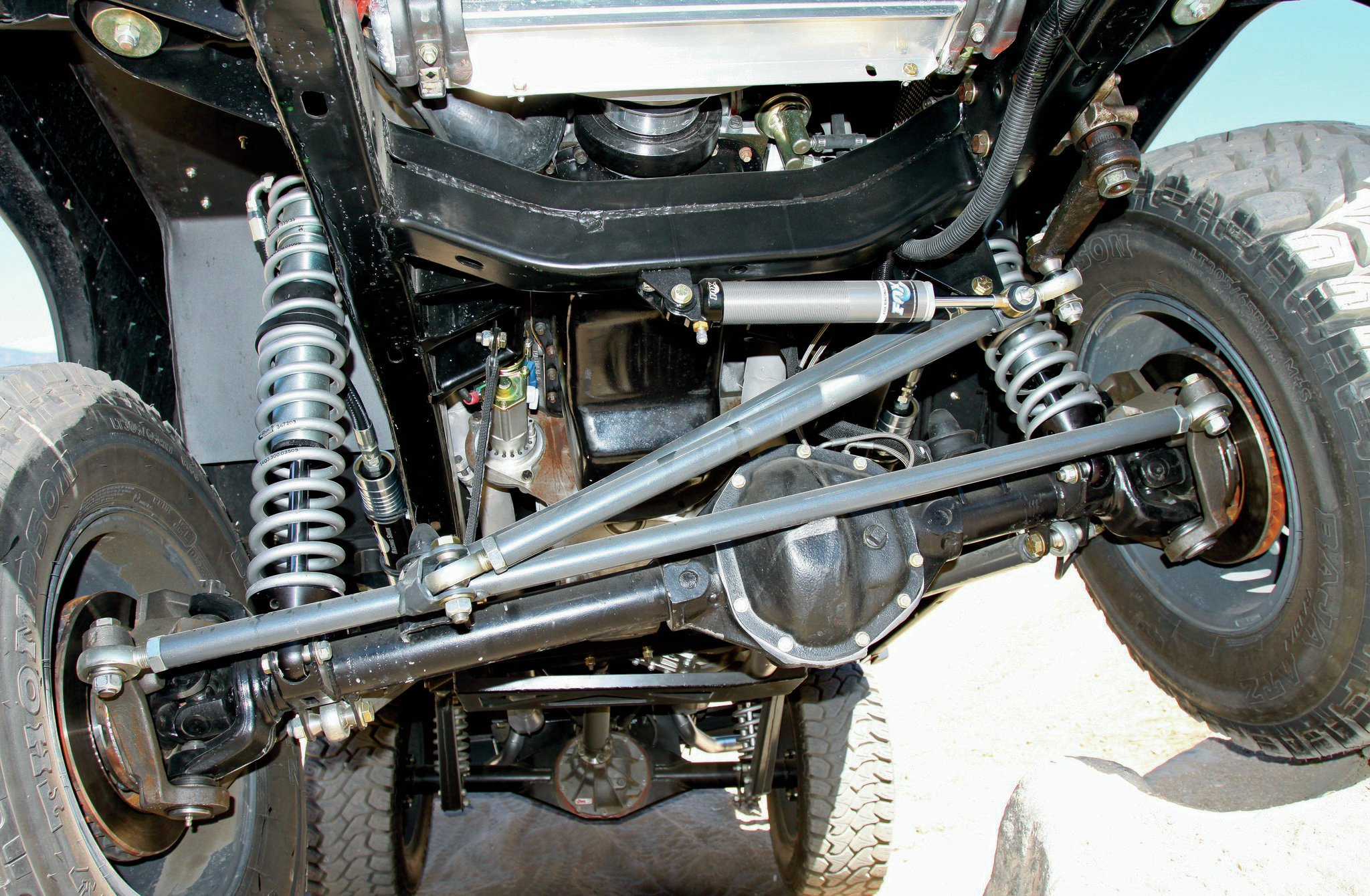 1971 Ford Bronco front suspension