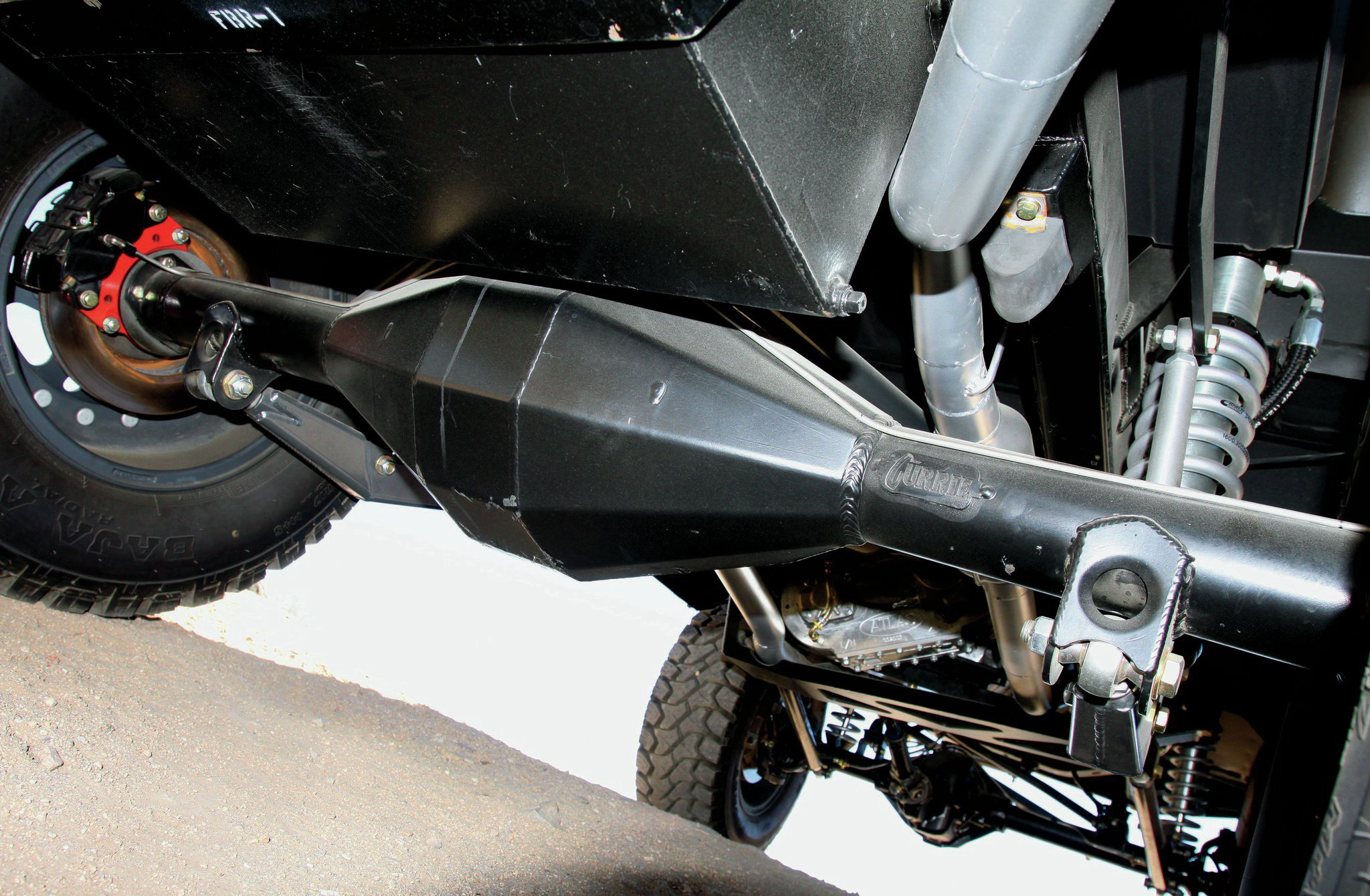 1971 Ford Bronco suspension