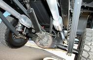1971 Ford Bronco underneath