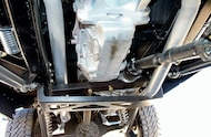 1971 Ford Bronco dual exhaust system