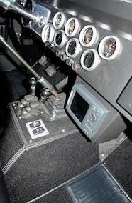 1971 Ford Bronco custom dashboard