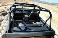 1971 Ford Bronco six point family style rollcage