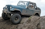 1981 Jeep CJ 7 front three quarter