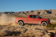 2015 Toyota Tundra TRD Pro side in motion