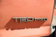 2015 Toyota Tacoma TRD Pro rear badge