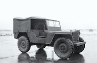The MLW-2 as fit with 7 50-20 tractor tires and a full-top  The
