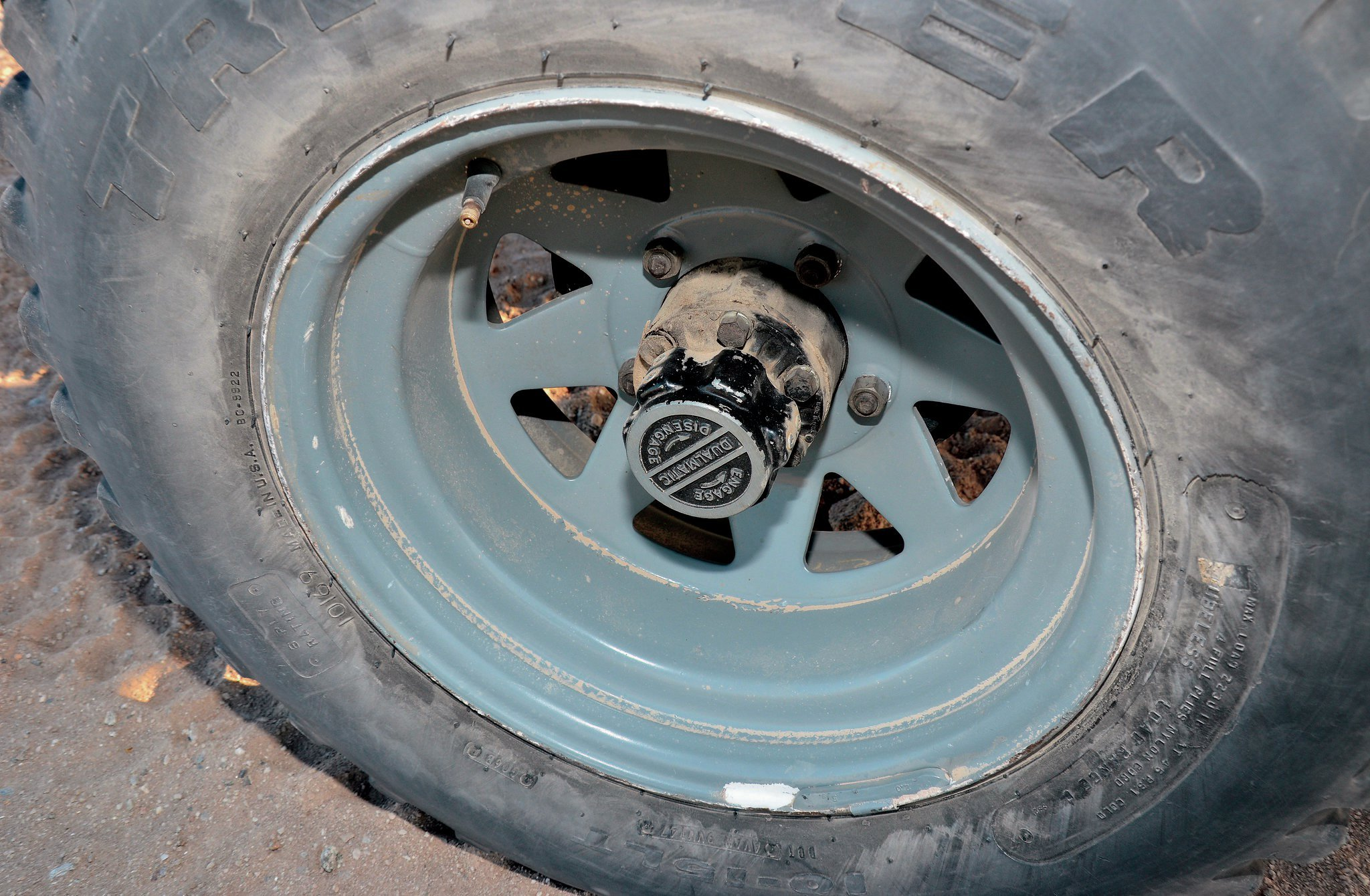 1946 jeep cj 2a wheel