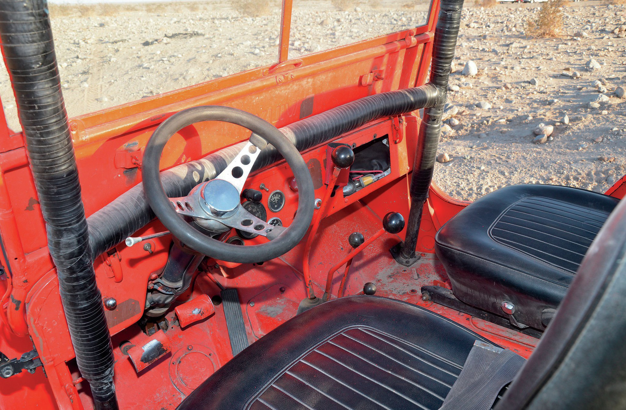 1946 jeep cj 2a dash