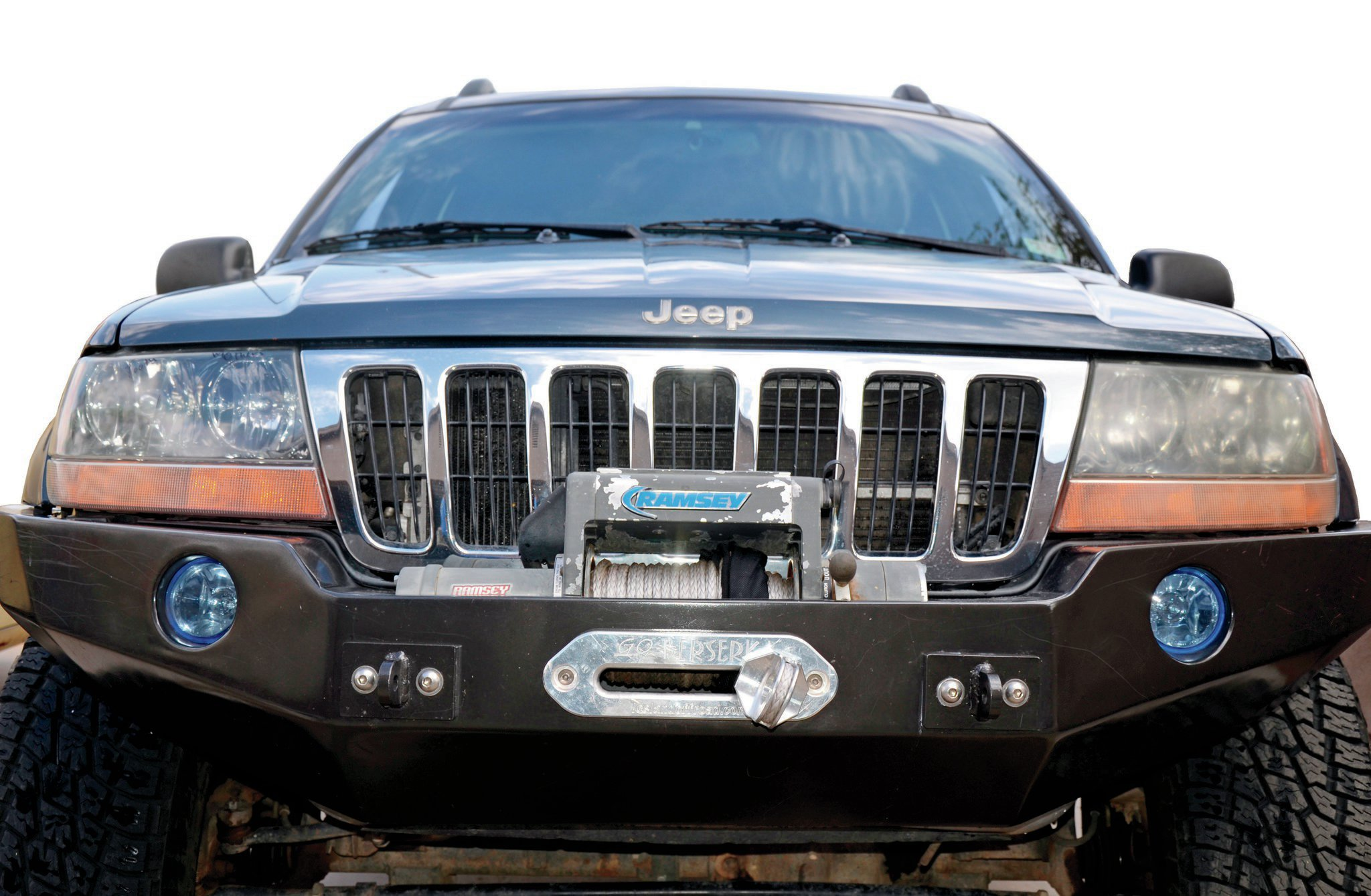 2001 Jeep Grand Cherokee WJ front view